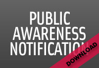 DOWNLOAD | Public Awareness Notification